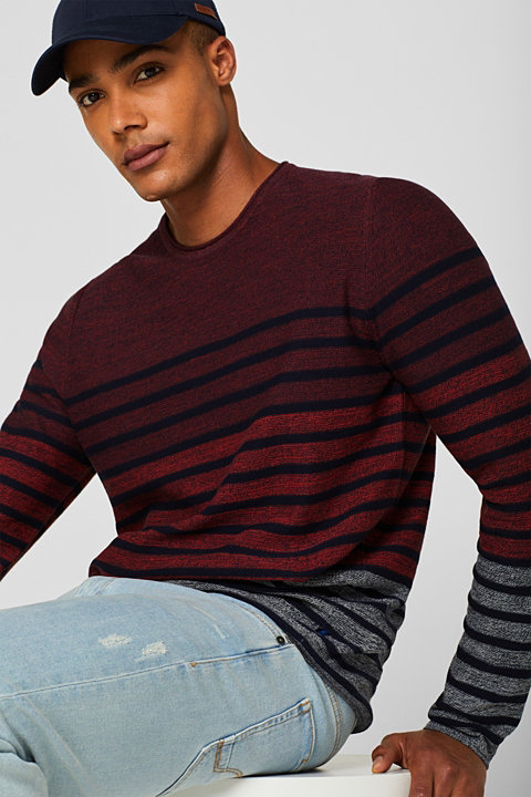 Striped jumper, 100% cotton