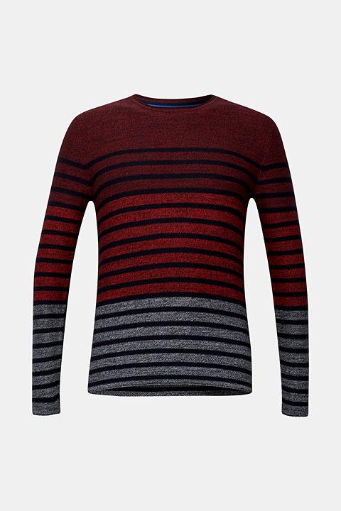 Striped jumper, 100% cotton