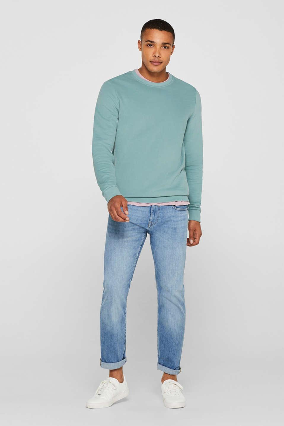 Sweatshirts, LIGHT AQUA GREEN, detail image number 1
