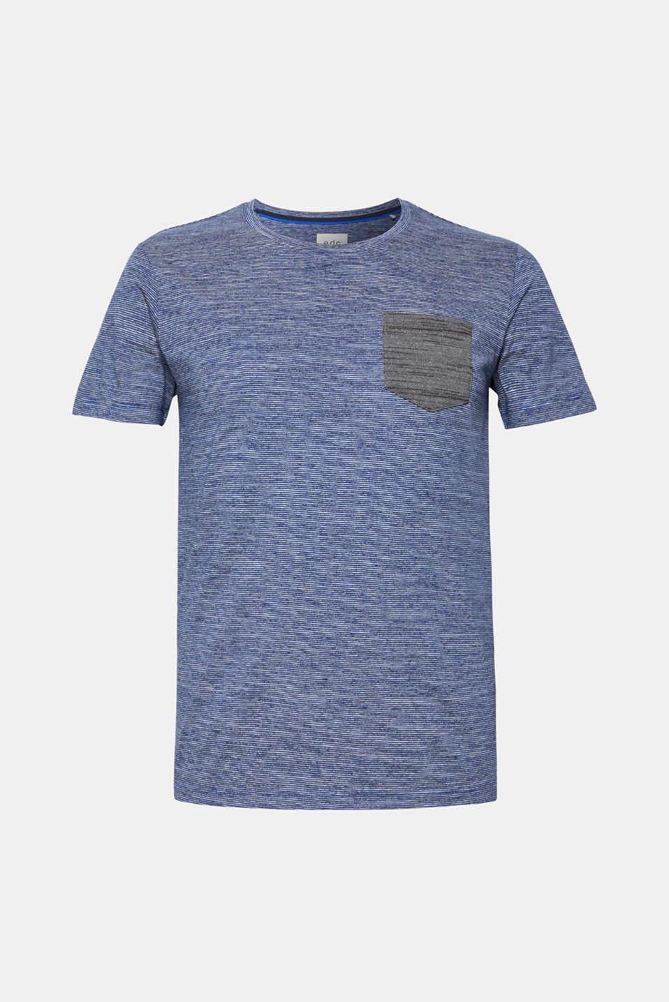 T-Shirts, BLUE, detail image number 6