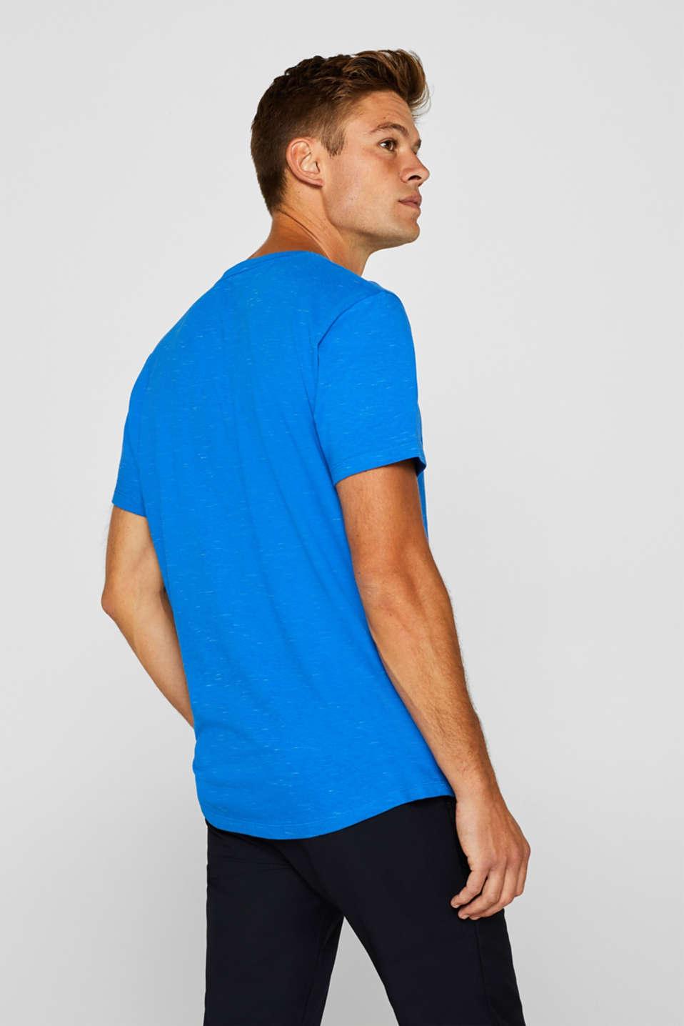 Slub jersey T-shirt, BLUE, detail image number 3
