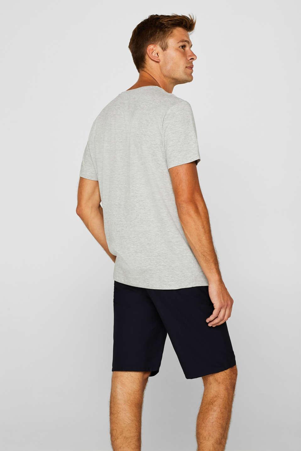 Melange jersey T-shirt, MEDIUM GREY, detail image number 3