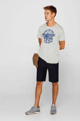 Melange jersey T-shirt, MEDIUM GREY, detail