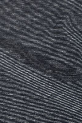 Striped jersey T-shirt with breast pocket, NAVY, detail