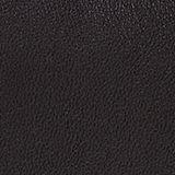 Faux leather shoulder bag, BLACK, swatch