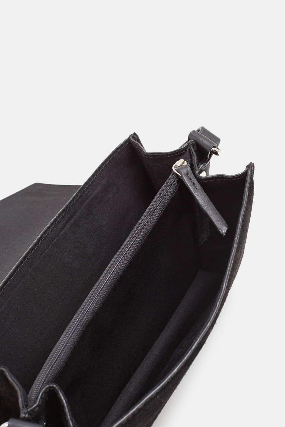 Bags leather, BLACK, detail image number 4
