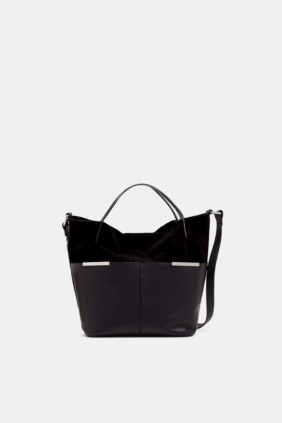 Esprit - Mixed leather shoulder bag