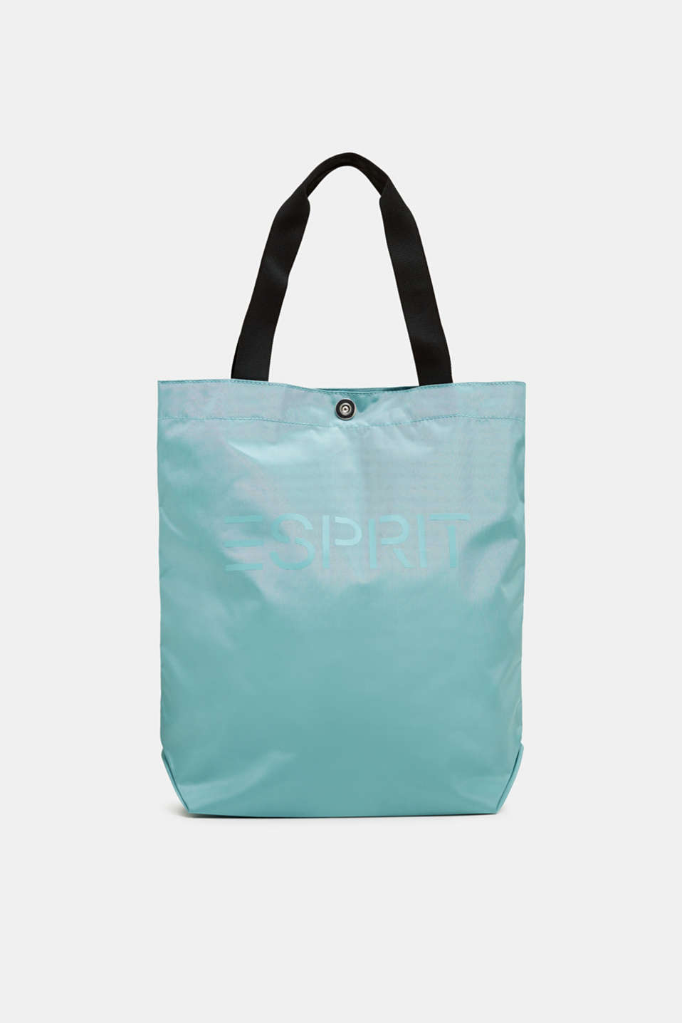 Esprit - Nylon shopper with a logo print