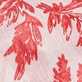 Snood with a decorative branch print, RED, swatch