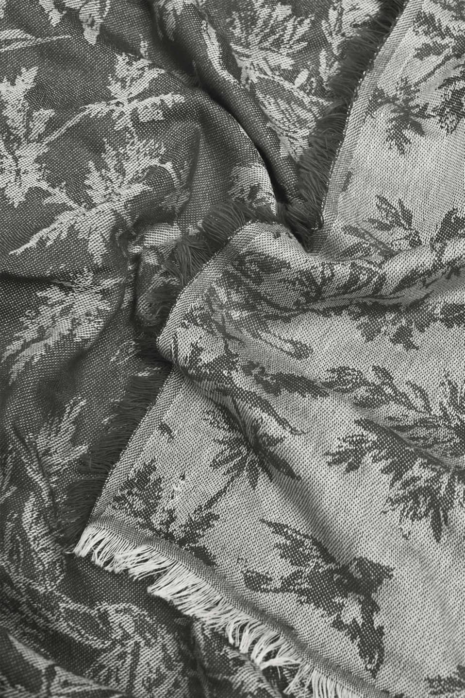 Shawls/Scarves, ANTHRACITE, detail image number 2