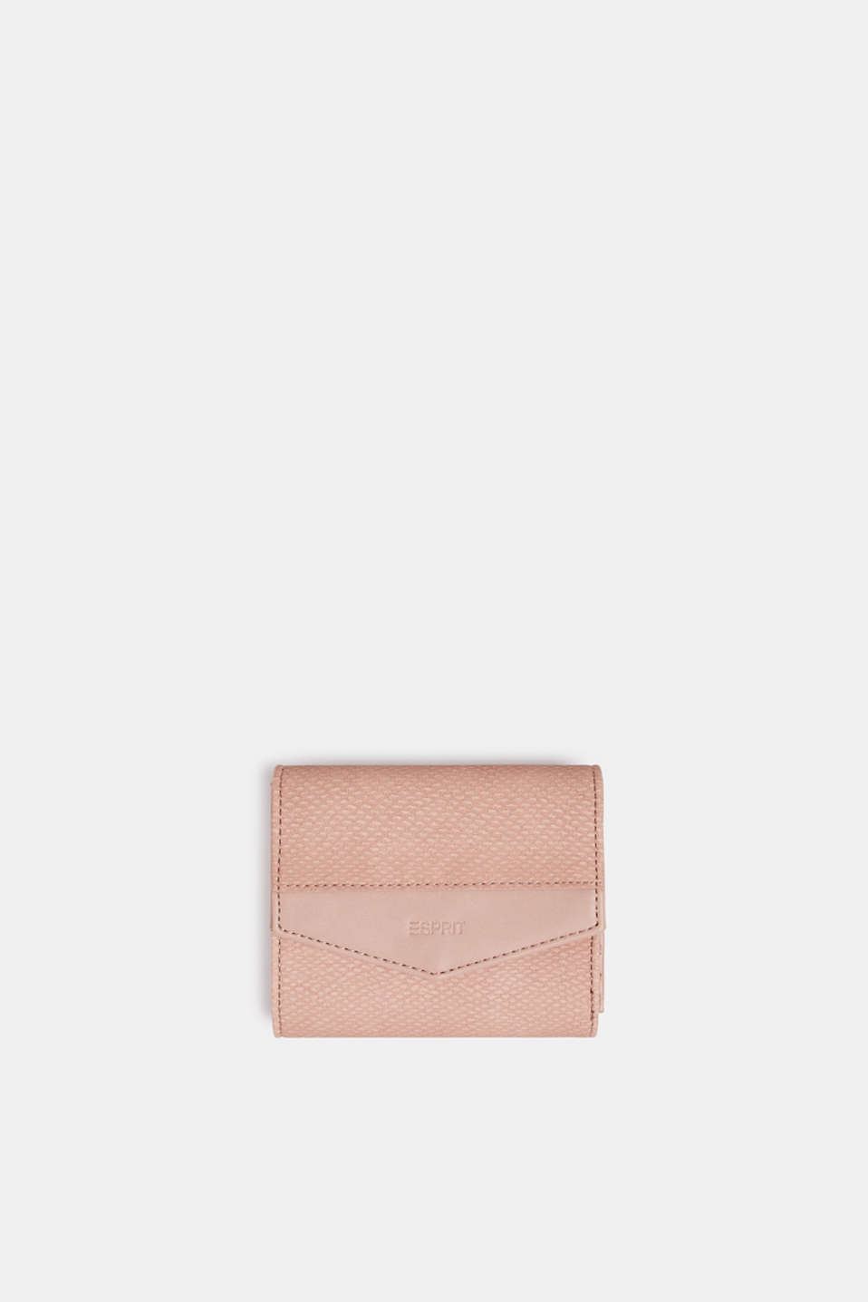 Esprit - Compact faux leather wallet