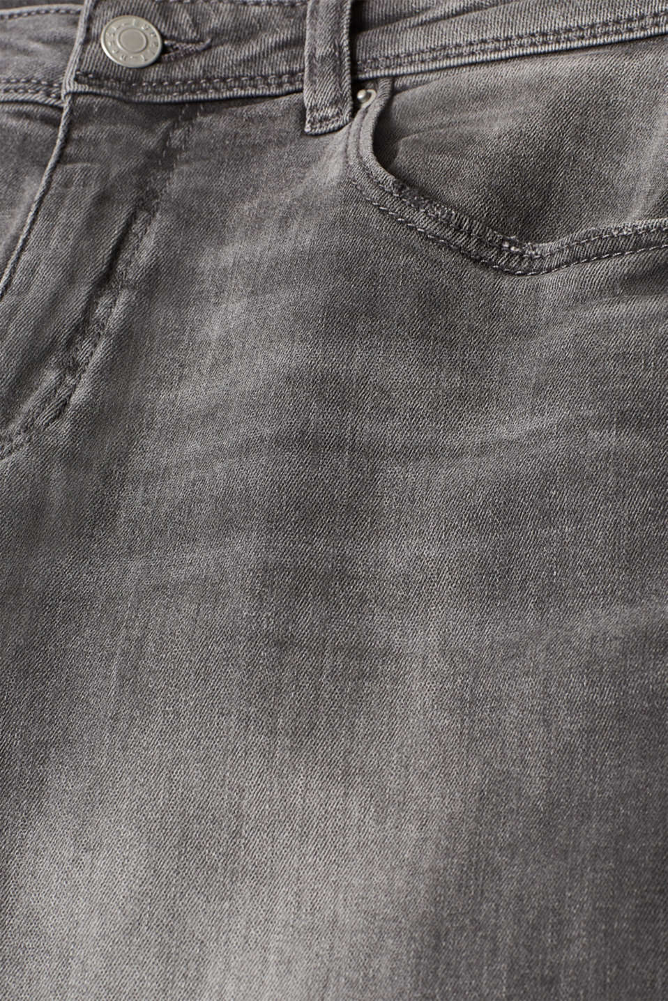 Pants denim, GREY MEDIUM WASH, detail image number 4