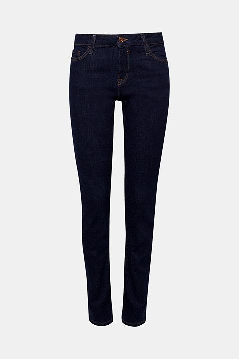 Stretch jeans in dark denim