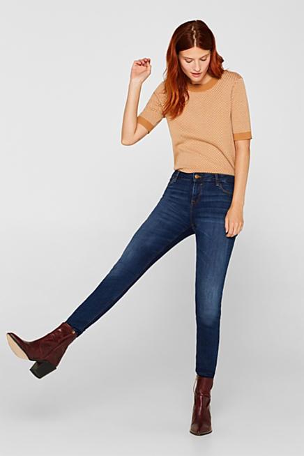 4ce2e86b Esprit tætsiddende slim jeans til damer i Esprits Online-Shop