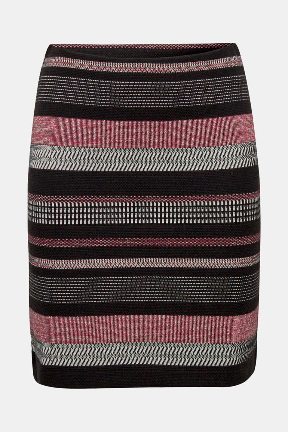 Skirts knitted, BLACK, detail image number 6