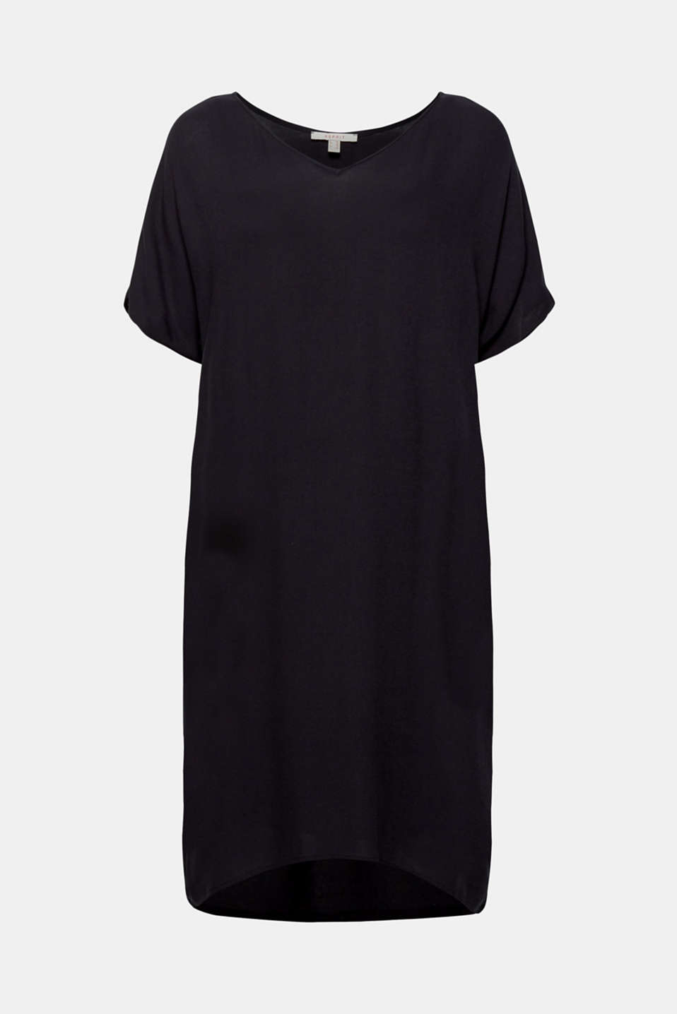 Dresses light woven, BLACK, detail image number 7