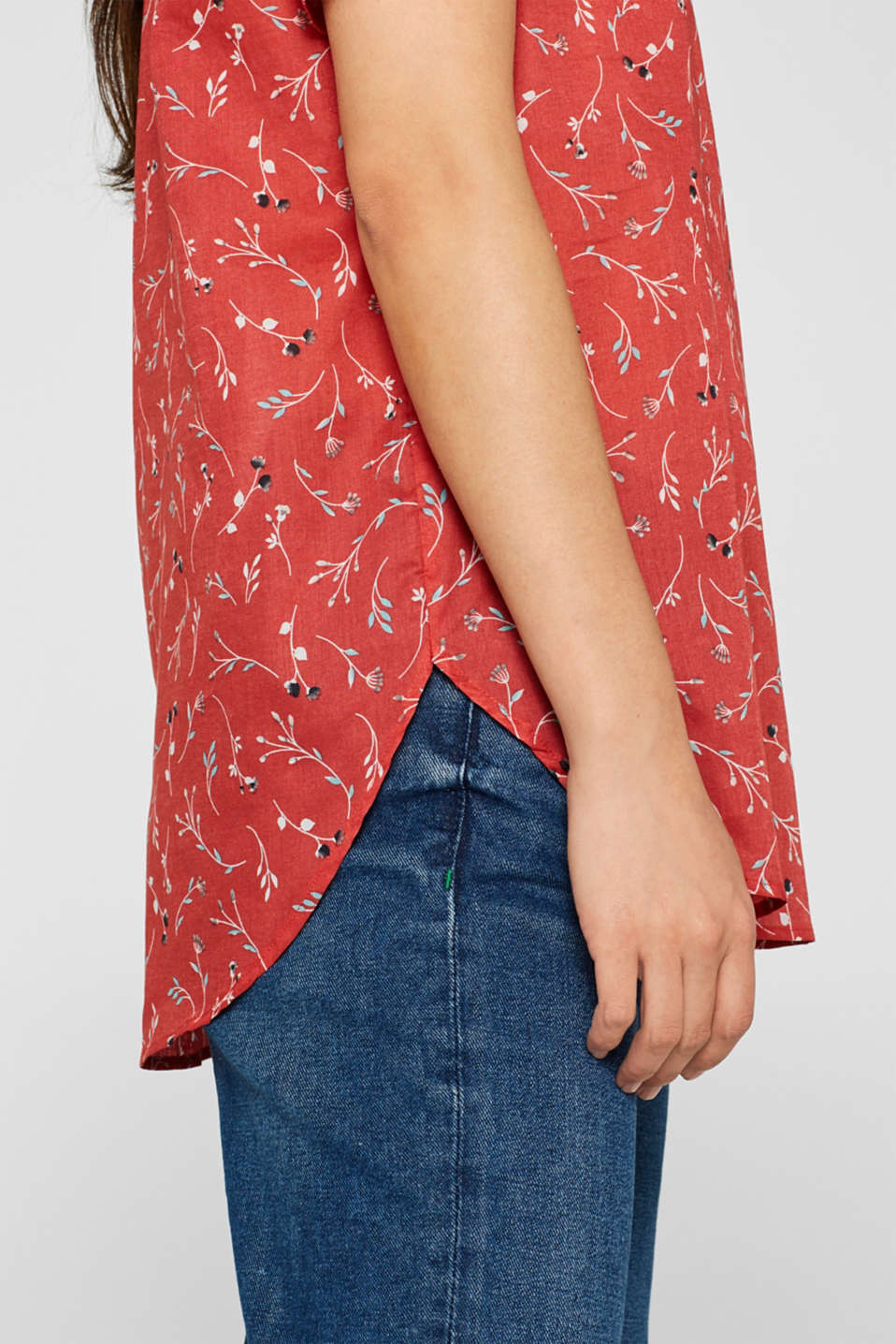Blouses woven, RED, detail image number 2