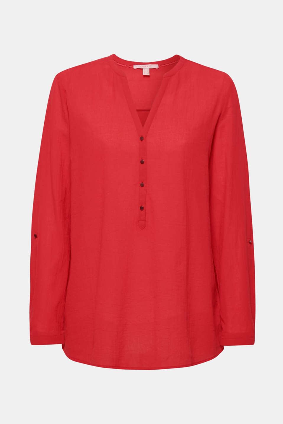 Blouses woven, DARK RED, detail image number 7