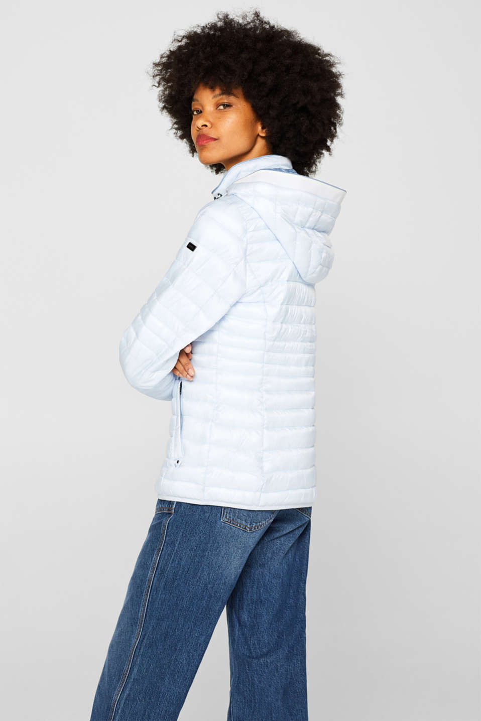 Quilted jacket with 3M™ Thinsulate™ filling, PASTEL BLUE, detail image number 3