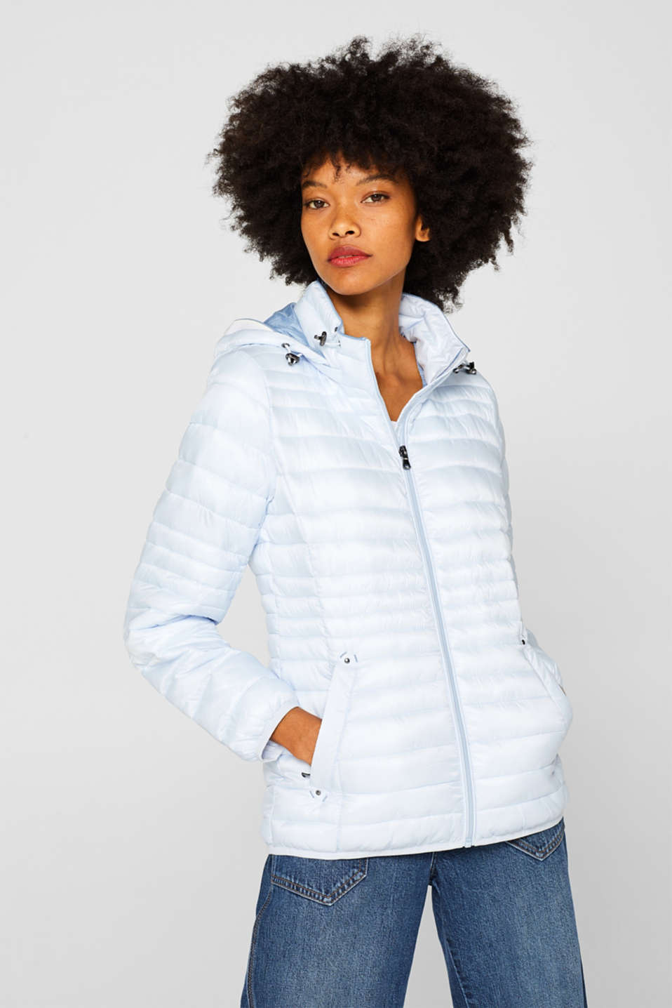 Quilted jacket with 3M™ Thinsulate™ filling, PASTEL BLUE, detail image number 5