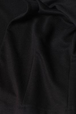 Bolero cardigan made of textured jersey