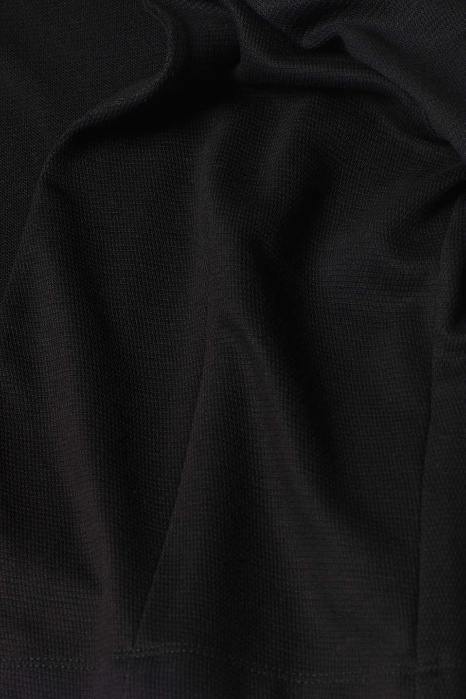 Jackets indoor knitted, BLACK, detail image number 4