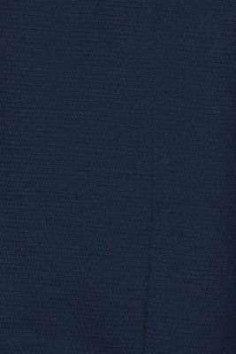 Bolero cardigan made of textured jersey, NAVY, detail