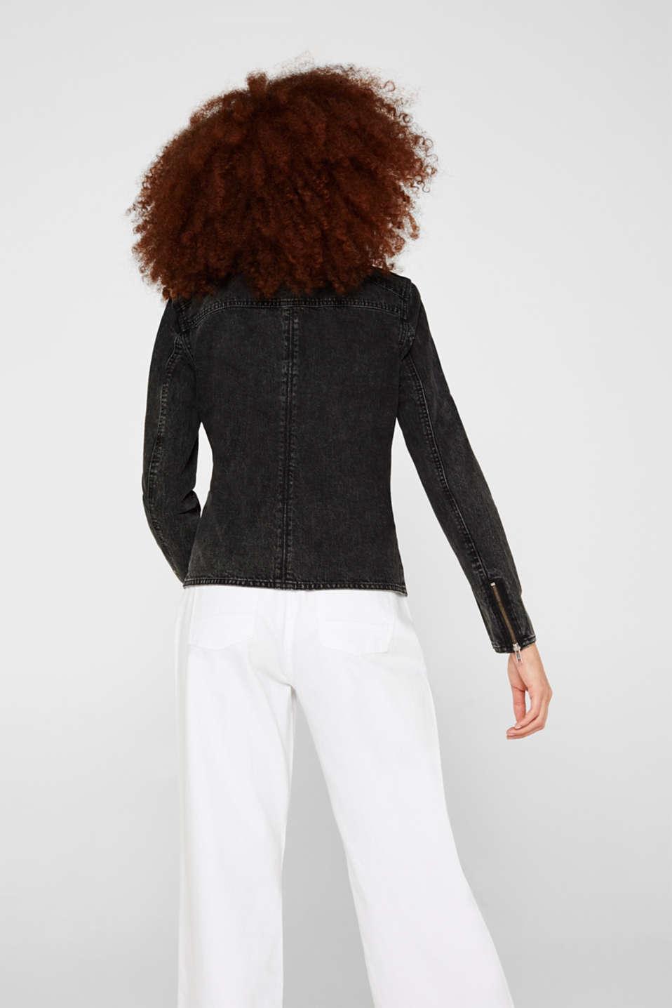 Jackets indoor denim, GREY DARK WASH, detail image number 3