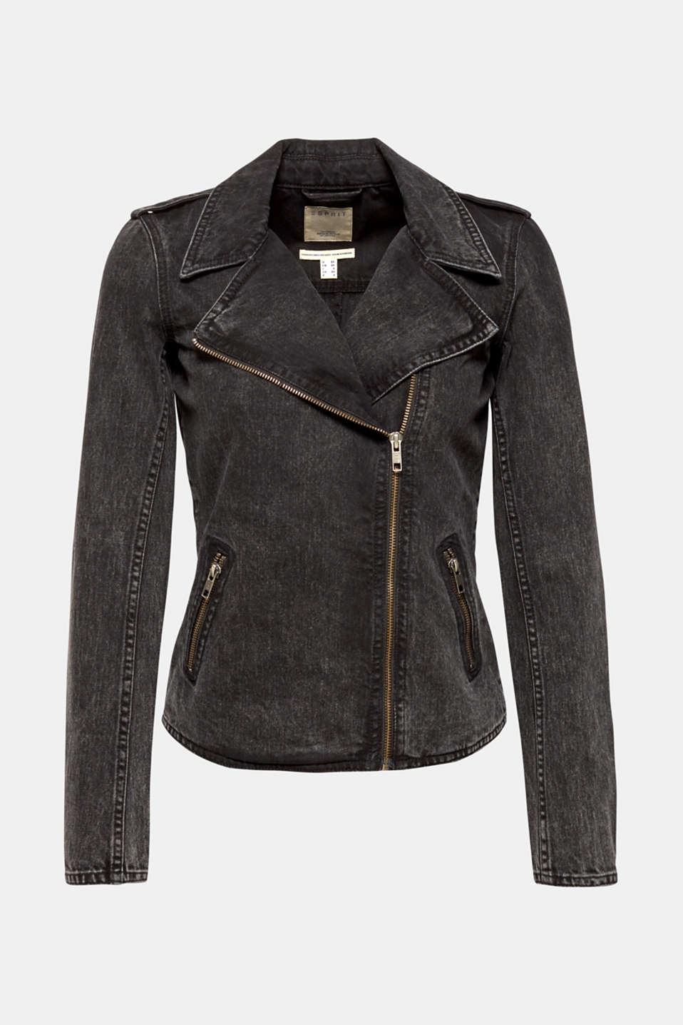 Jackets indoor denim, GREY DARK WASH, detail image number 8
