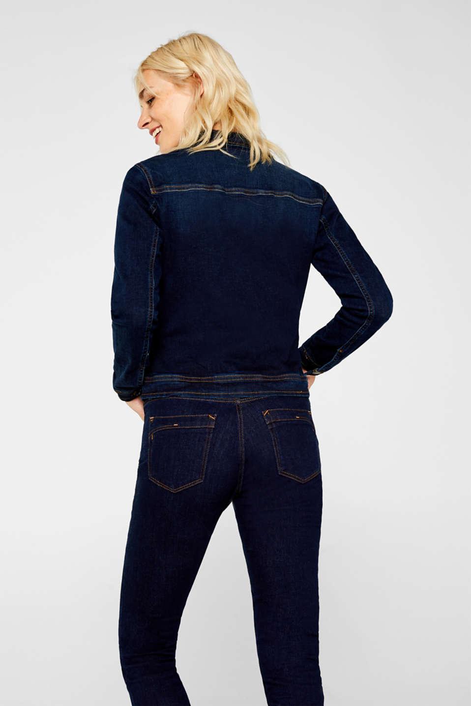 Jackets indoor denim, BLUE RINSE, detail image number 3