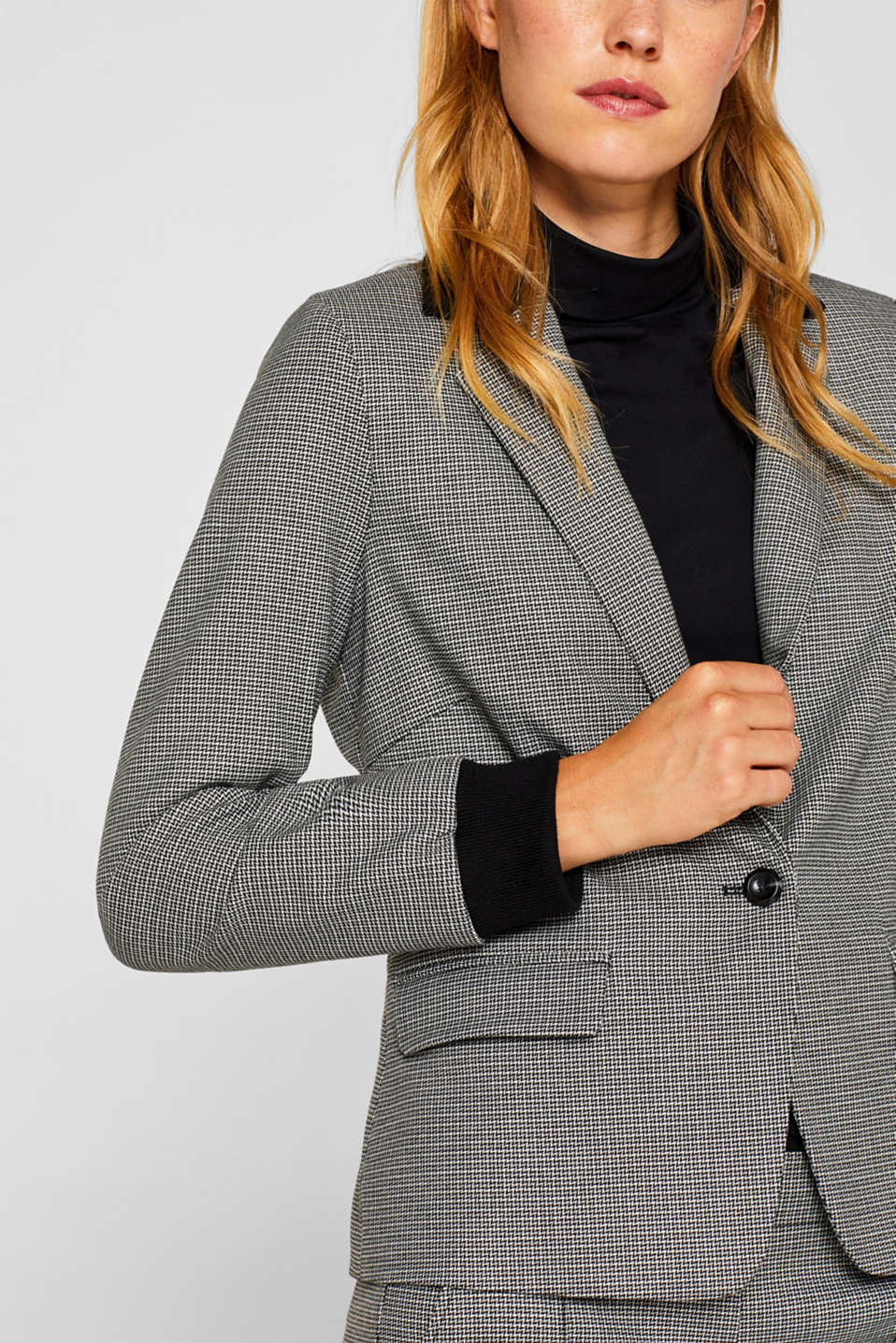 Blazers woven, BLACK, detail image number 2