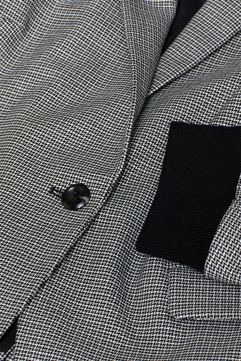Blazers woven, BLACK, detail image number 4