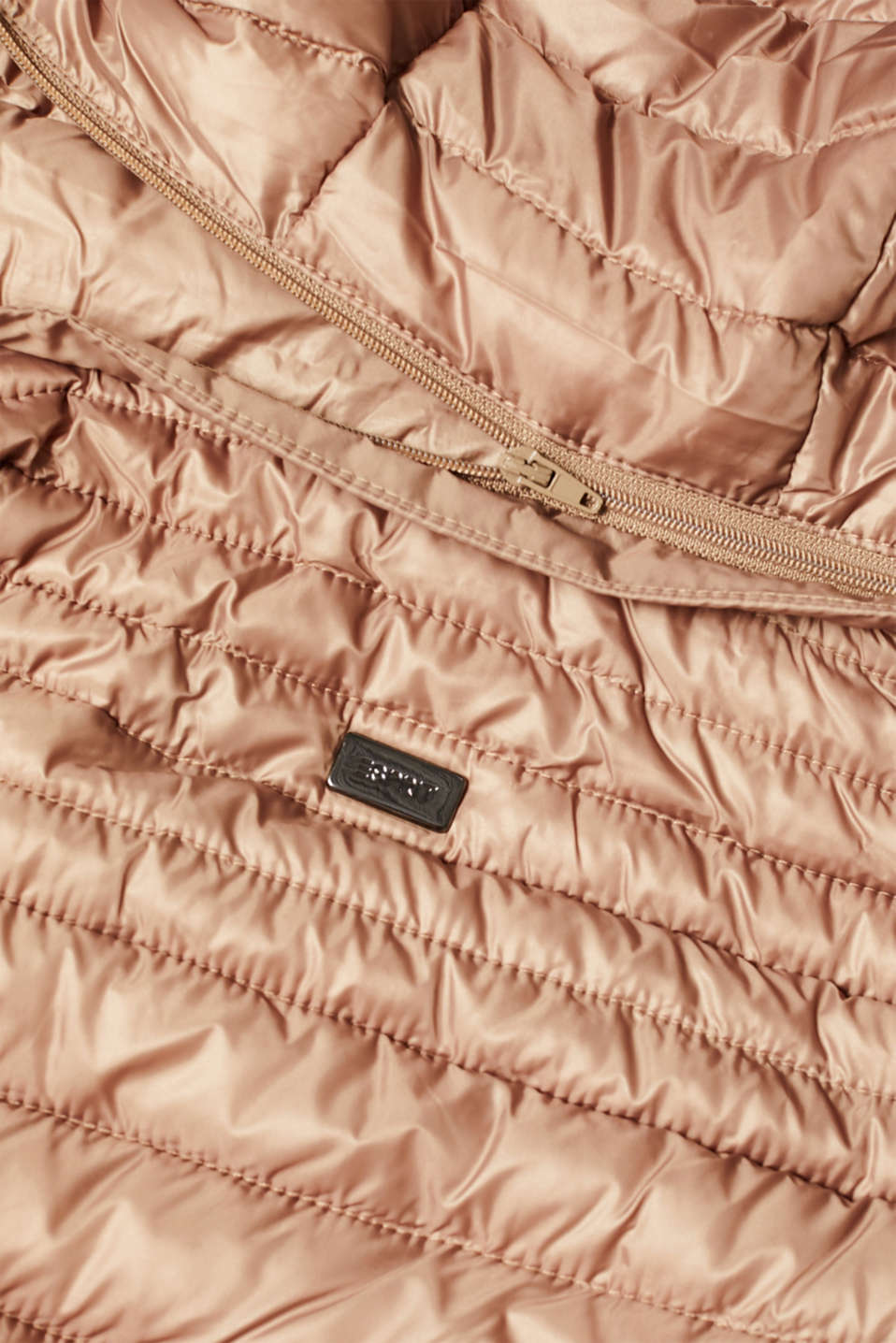 Quilted body warmer with 3M® Thinsulate filling, TAUPE, detail image number 4