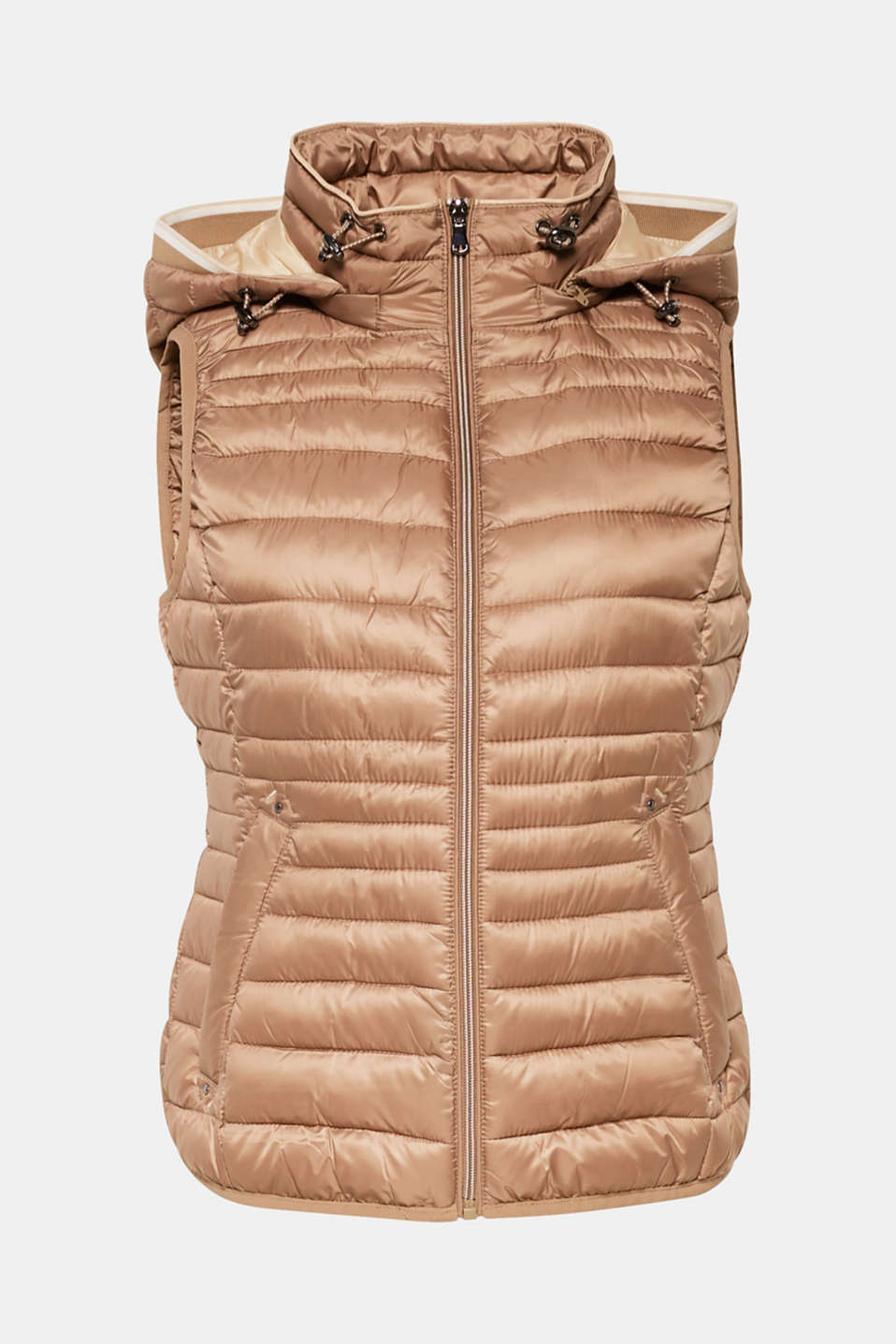 Quilted body warmer with 3M® Thinsulate filling, TAUPE, detail image number 9