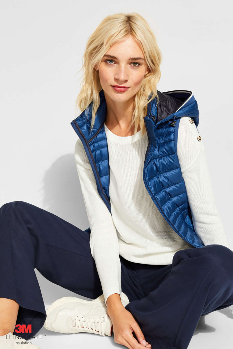 Esprit - Quilted body warmer with 3M® Thinsulate filling