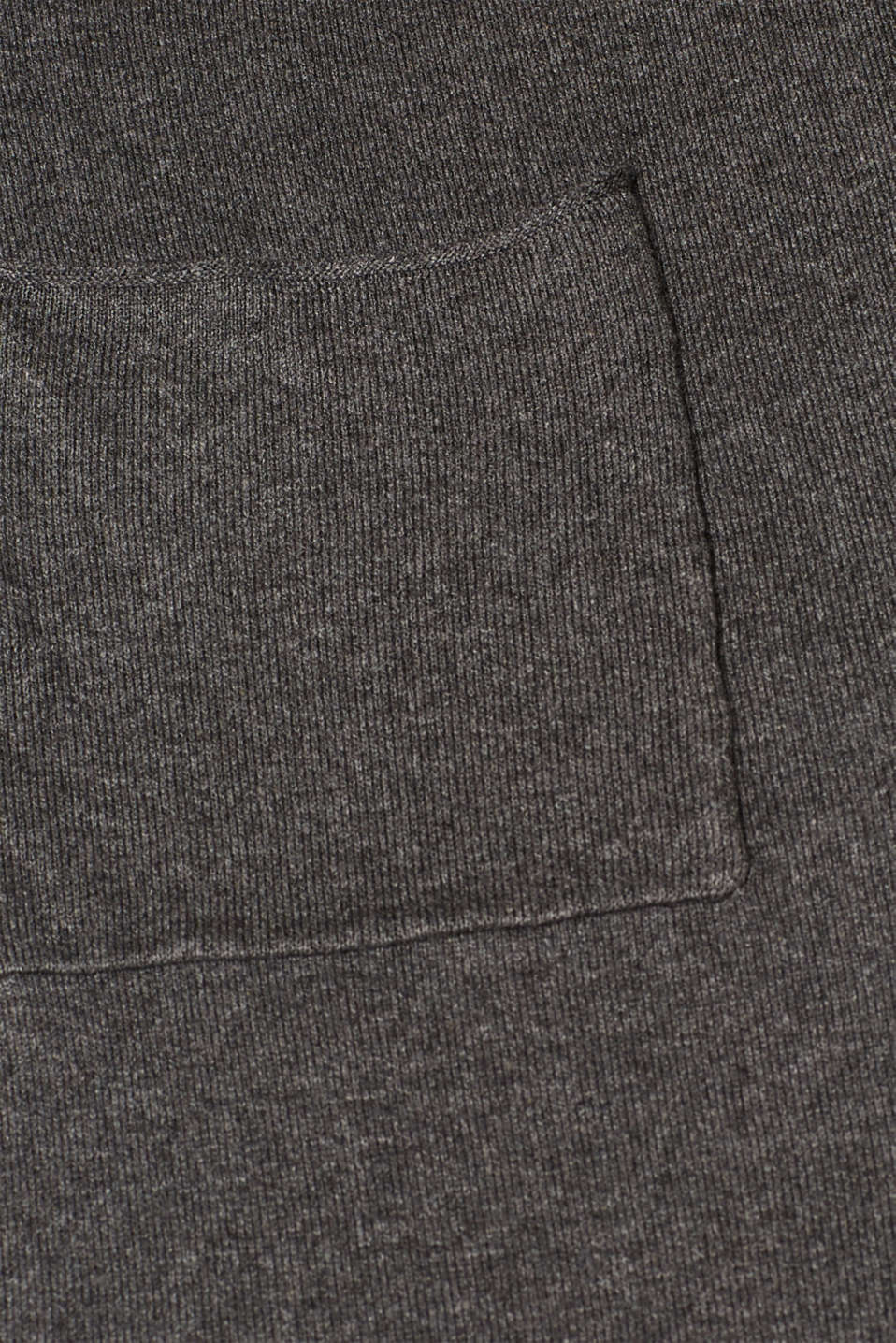 Sweaters cardigan, DARK GREY 5, detail image number 4