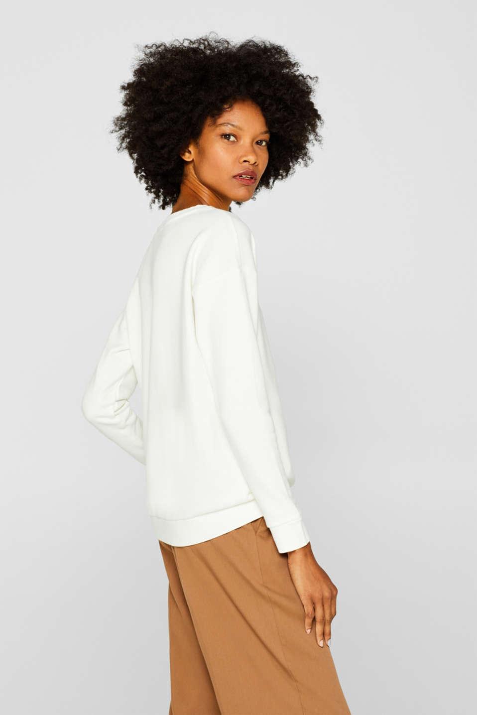 Sweatshirts, OFF WHITE, detail image number 5