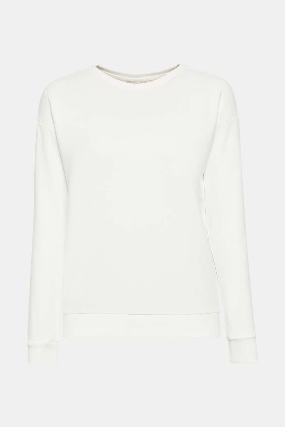 Sweatshirts, OFF WHITE, detail image number 8