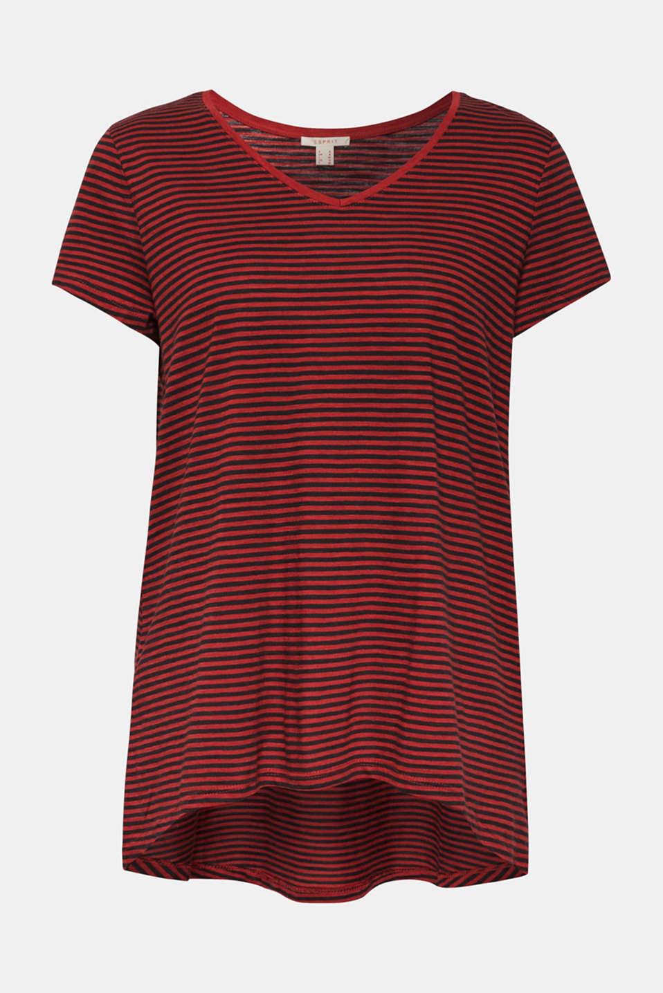 T-Shirts, DARK RED, detail image number 7