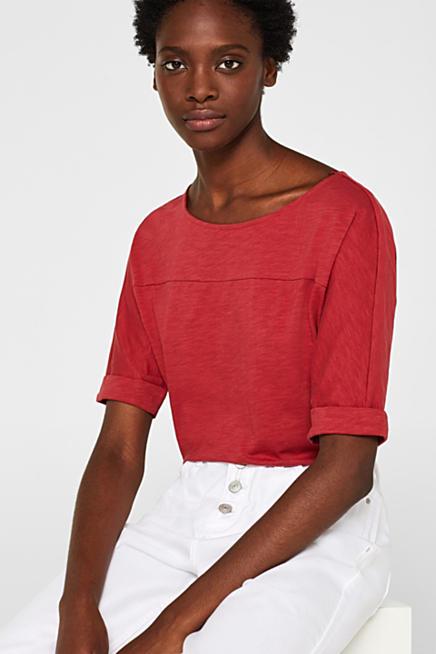 71403b62de9e Camiseta de mangas murciélago en jersey flameado, 100% algodón