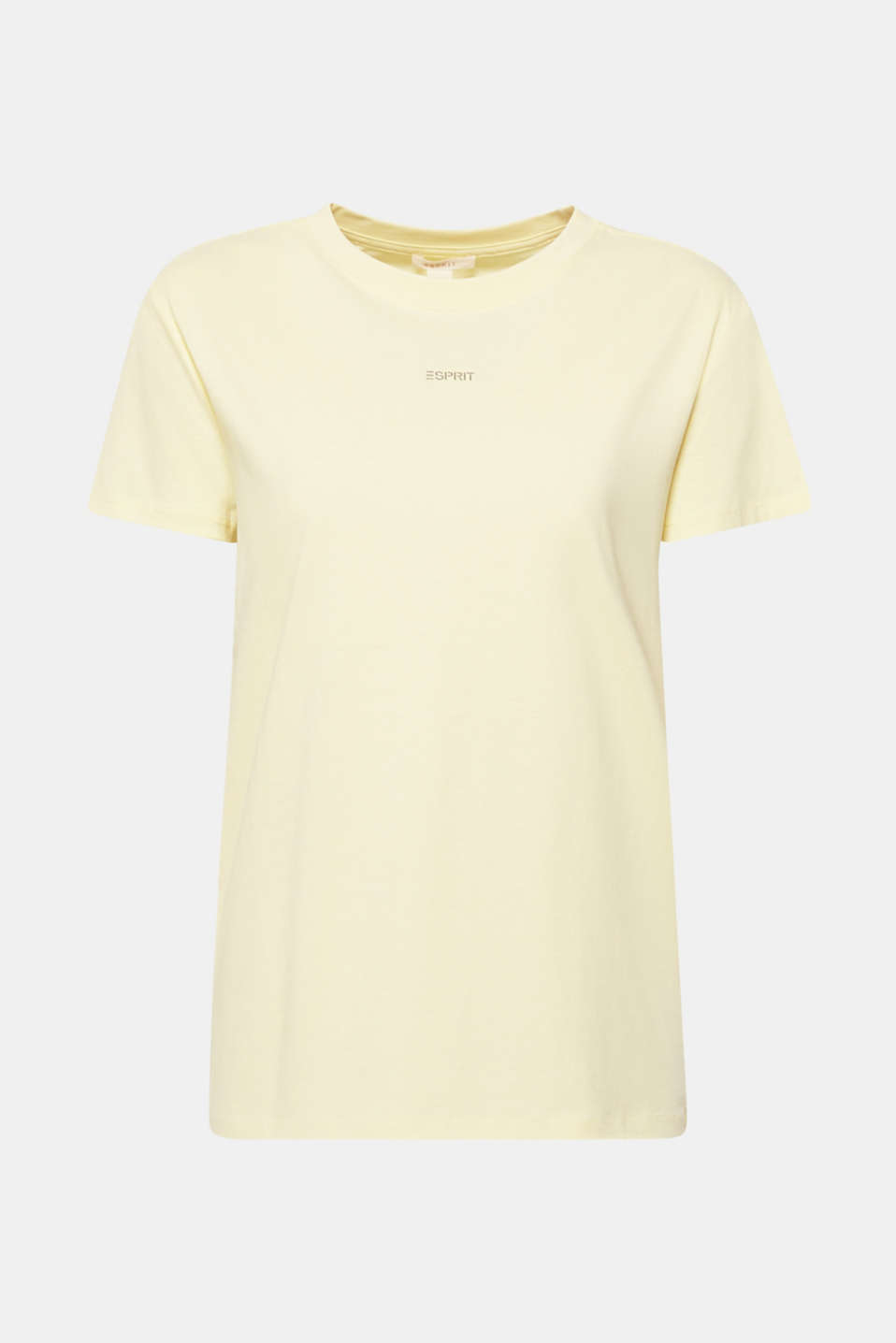 T-Shirts, PASTEL YELLOW, detail image number 7
