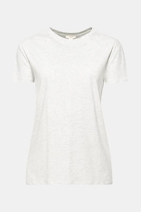 Melange T-shirt containing organic cotton