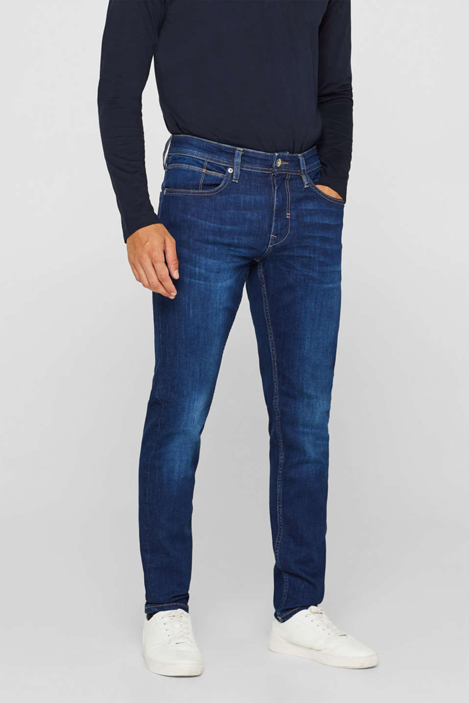 Esprit - Superstretch-jeans med COOLMAX®