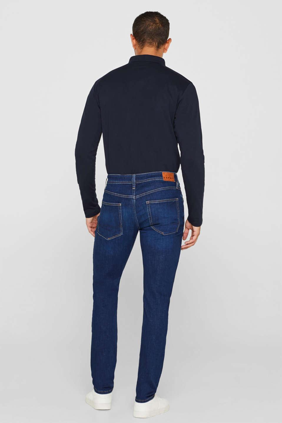Pants denim, BLUE DARK WASH, detail image number 1