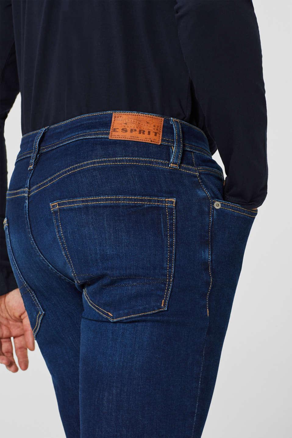 Pants denim, BLUE DARK WASH, detail image number 3