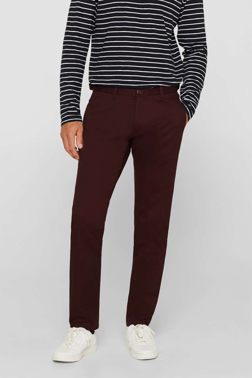 Esprit - Stretch cotton trousers