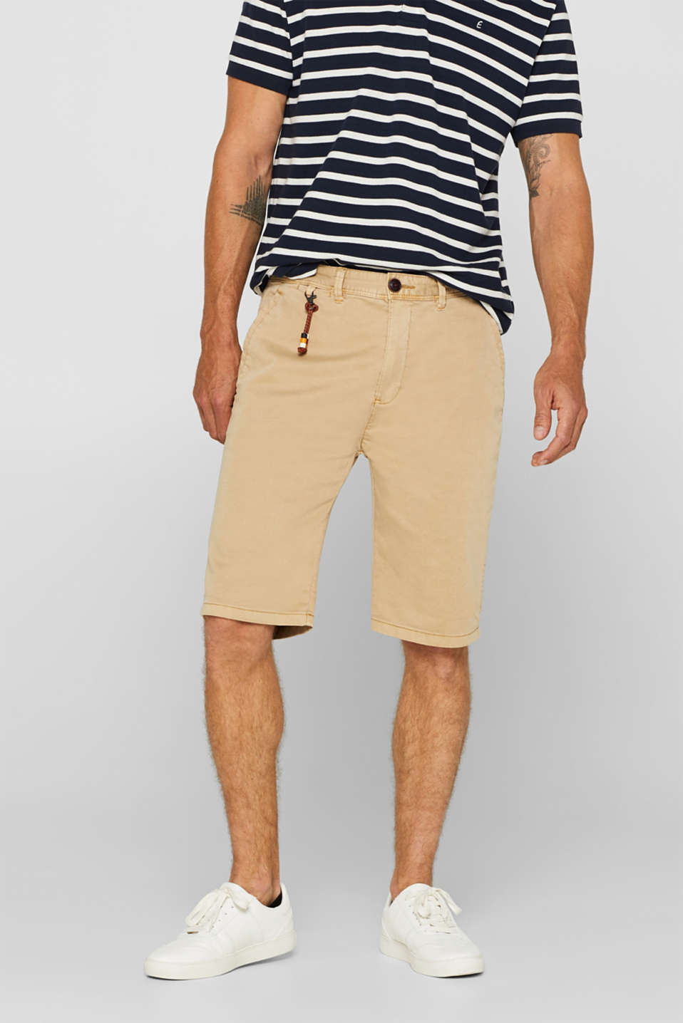 Esprit - Stretch cotton shorts