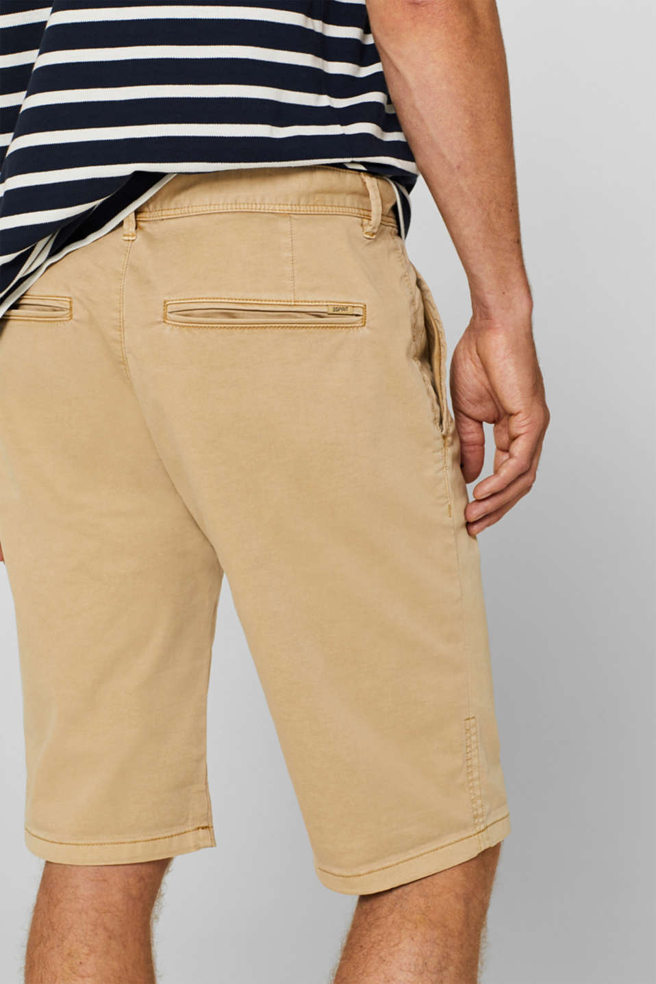 Shorts woven, BEIGE, detail image number 2
