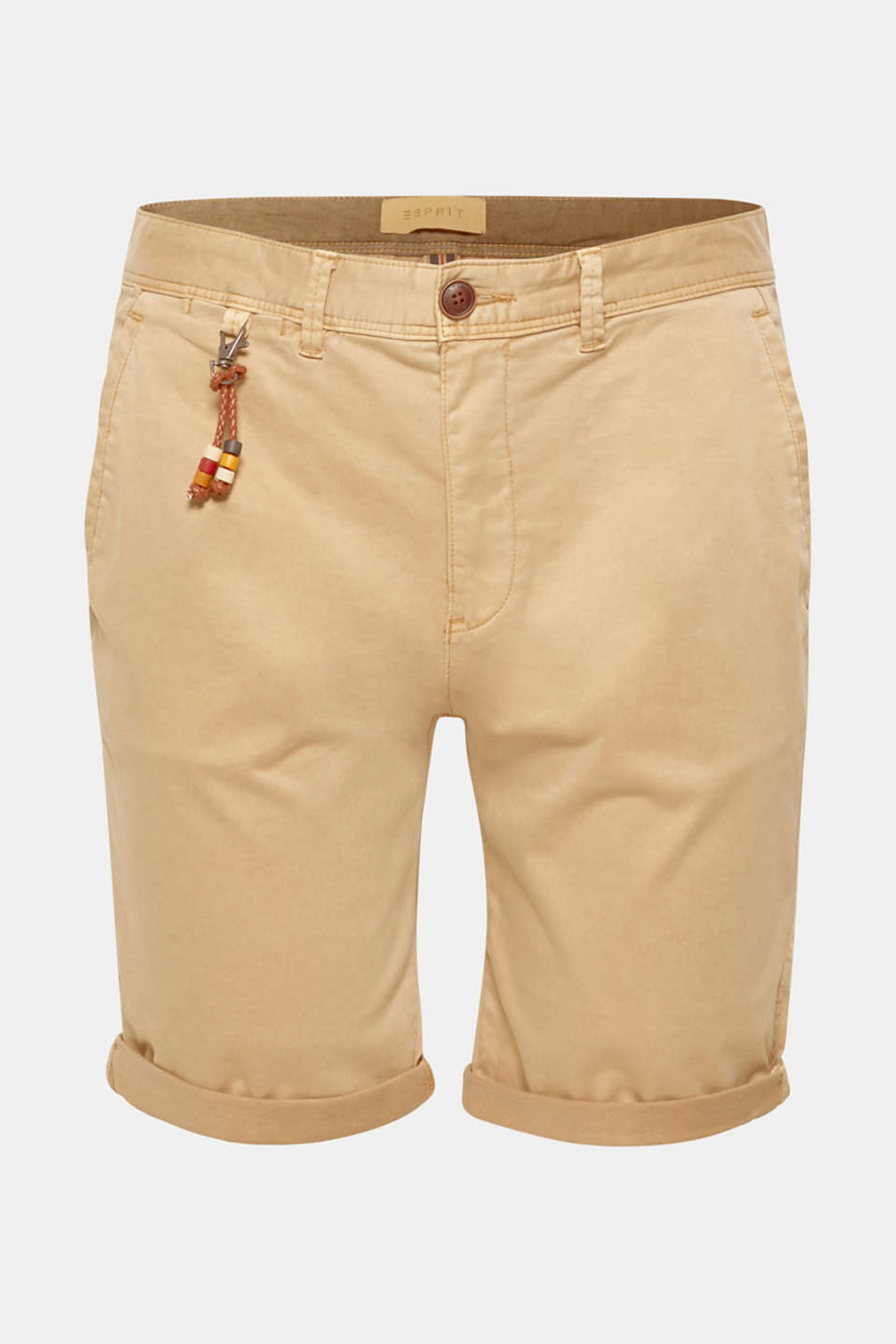 Shorts woven, BEIGE, detail image number 6