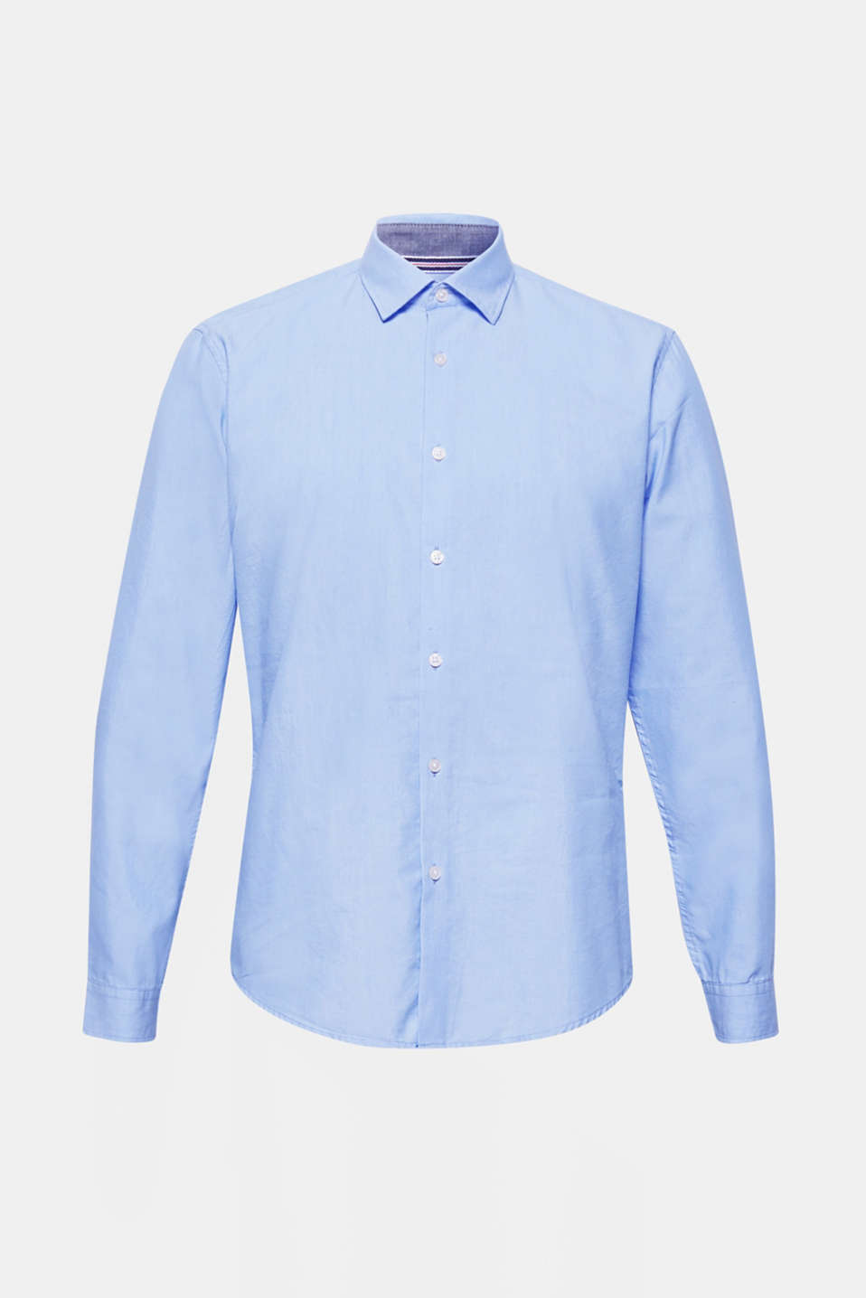 Shirts woven Slim fit, LIGHT BLUE, detail image number 6